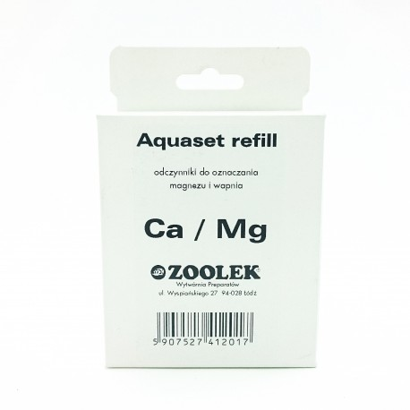 Zoolek Aquatest Refill Ca-Mg - uzupełnienie testu na Wapń i Magnez