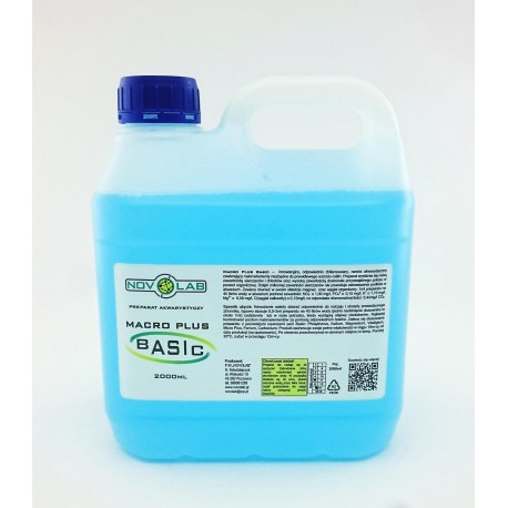 Novo Lab Macro Plus Basic makroelementy - 2000ml