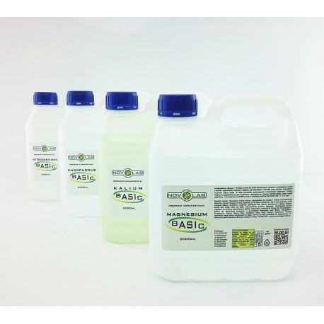 Novo Lab - zestaw Azot, Fosfor, Potas, Magnez - 4x2000ml