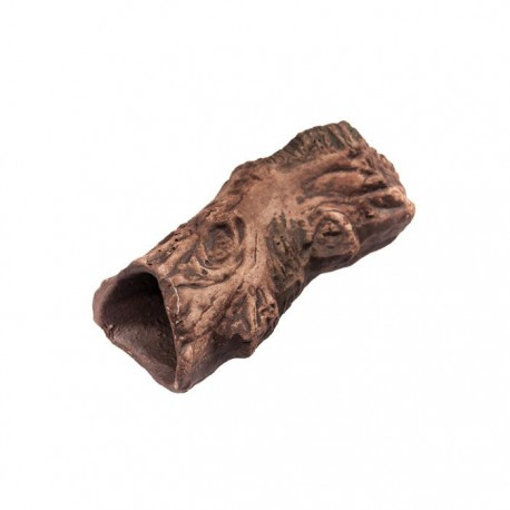 Korzeń, rurka, kryjówka ceramiczna - 14 x 4,5 x 5 cm