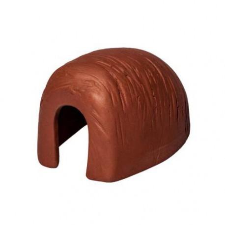 Tunel, domek ceramiczny mały - 12 x 6,5 x 8 cm