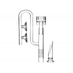 Szklany wlot skimmer - 12/16mm