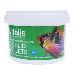 Vitalis Central/South American Cichlid Pellets XS 1mm 300g - 500ml