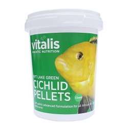 Vitalis Rift Lake Green Cichlid Pellets S 1,5mm 260g - 520ml