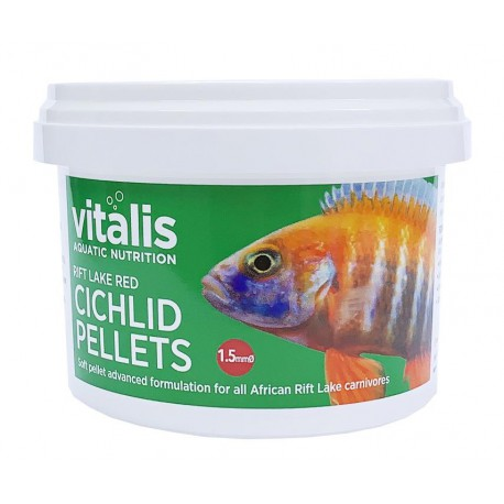Vitalis Rift Lake Red Cichlid Pellets S 1,5mm 140g - 280ml