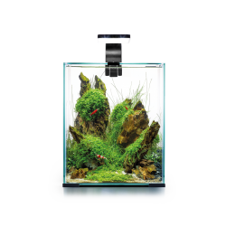 Aquael zestaw Shrimp Set Day & Night (czarny)- 20L