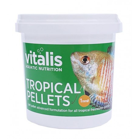 Vitalis Tropical Pellets XS 1mm 70g - 155ml