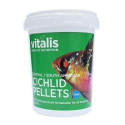 Vitalis Central/South American Cichlid Pellets XS 1mm 260g - 520ml