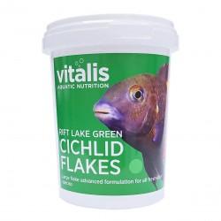 Vitalis Rift Lake Green Cichlid Flakes 40g -550ml