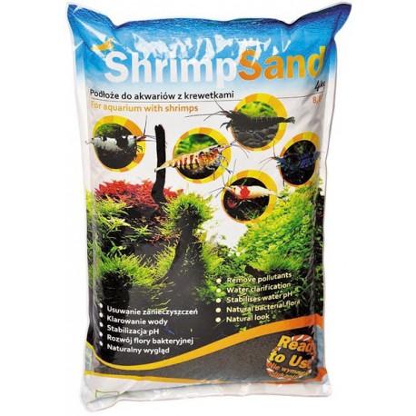 Aqua Art Shrimp sand 4kg czarne