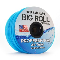 U.S.Aqua Airline Blue - wężyk 6mm 1mb