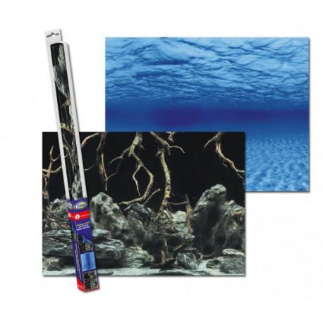 Aqua Nova Tło akwariowe 60x30cm - The roots/Water