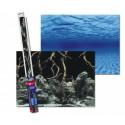 Aqua Nova Tło akwariowe 150x60cm - The roots/Water