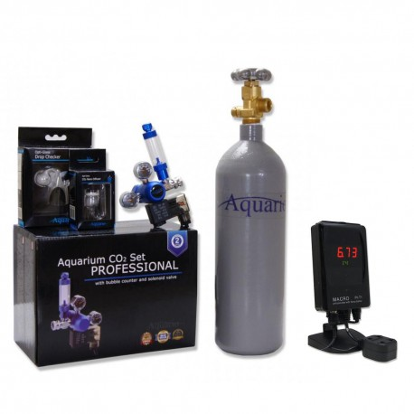 Zestaw CO2 Blue exclusive (komputer ph) - butla 5L