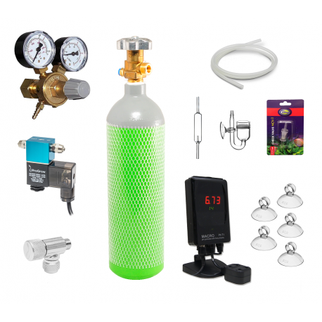 Zestaw CO2 AUTOMATIC (komputer pH) - 8L