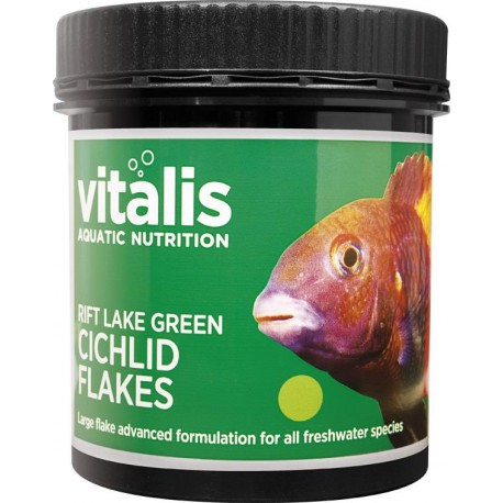 Vitalis Rift Lake Green Cichlid Flakes 90g - 1500ml