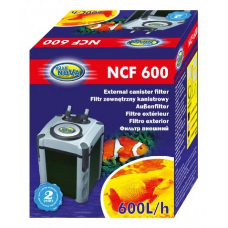 Aqua Nova filtr zewnętrzny NCF - 600 (do 150L)