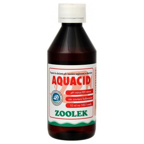 Zoolek Aquacid preparat obniżający ph i kh - 250ml