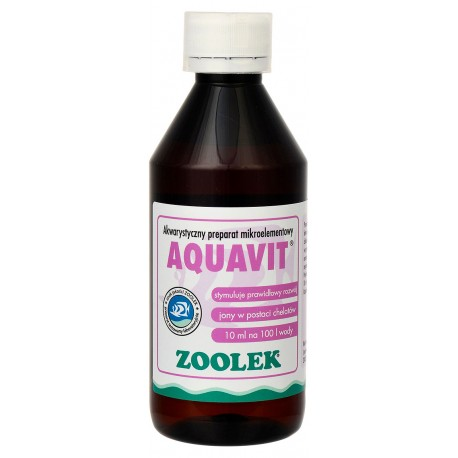 Zoolek Aquavit Mikroelementy - 250ml