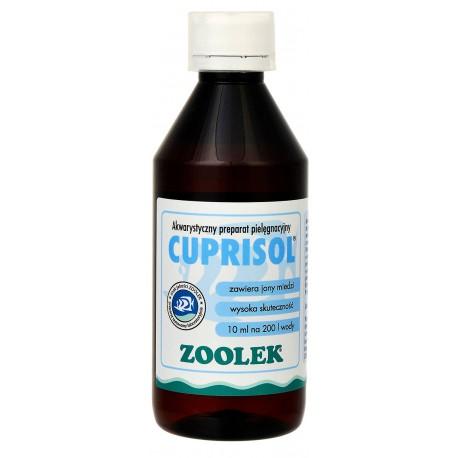 Zoolek Cuprisol na pleśń i oodinum - 30ml