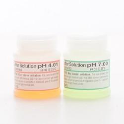 Macro Aqua bufory ph4 i ph7 - zestaw płynów kalibrujących 2x25ml