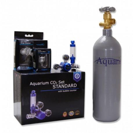 Zestaw CO2 Blue Standard - butla 2L