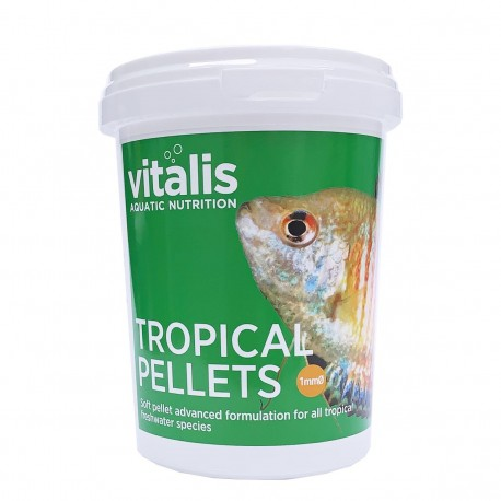 Vitalis Tropical Pellets XS 1mm 260g - 520ml