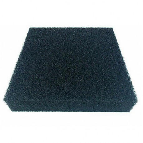 Gąbka czarna 10ppi - 35x30x10 cm