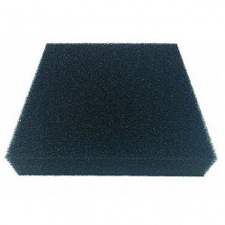 Gąbka czarna 10ppi - 50x50x3 cm