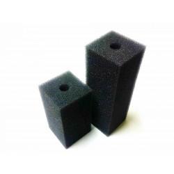 Gąbka czarna 20ppi - 10x5x5 cm z otworem