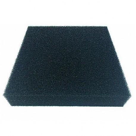 Gąbka czarna 30ppi - 25x25x5 cm