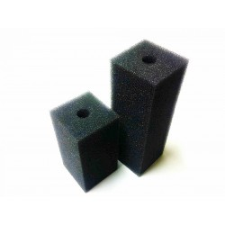 Gąbka czarna 45ppi - 10x5x5 cm z otworem