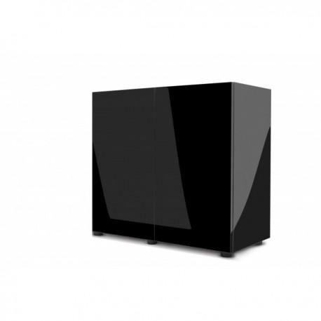 Aquael szafka GLOSSY 80 ST - czarna