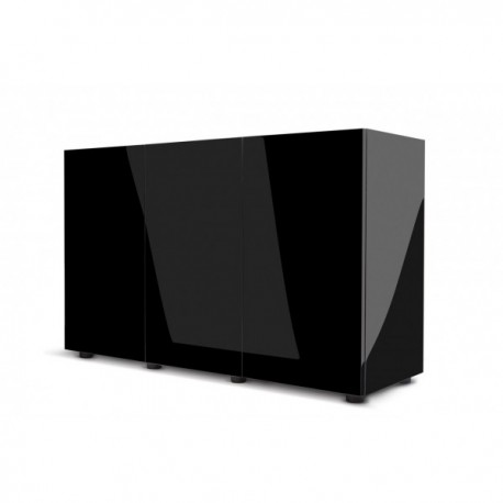 Aquael szafka GLOSSY 120 ST - czarna