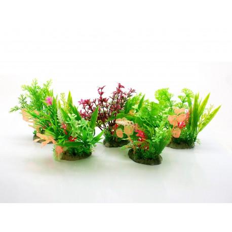 Aquael rośliny sztuczne 10cm MIX - 5szt