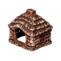 Chatka domek ceramiczny  - 12 x 12 x 10 cm (28002)