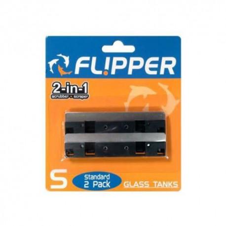 Flipper - Ostrza ze stali nierdzewnej do Flipper Standard (2szt.)
