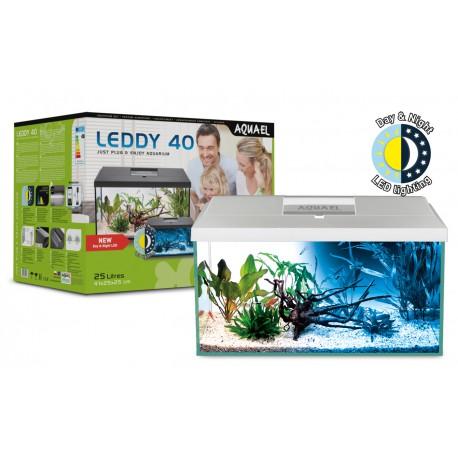 Aquael zestaw Leddy Set - 40 (40x25x25cm) 25L - Biały