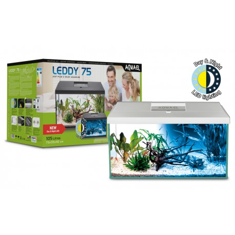 Aquael zestaw Leddy Set 75 (75x35x40cm) 105L - Biały