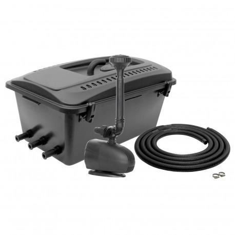 Aquael KlarJet 15000 - Zestaw filtracyjny z lampą UV