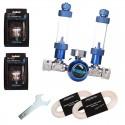 Zestaw CO2 Blue standard TWIN - bez butli