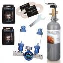 Zestaw CO2 Blue Standard TWIN - butla 2L