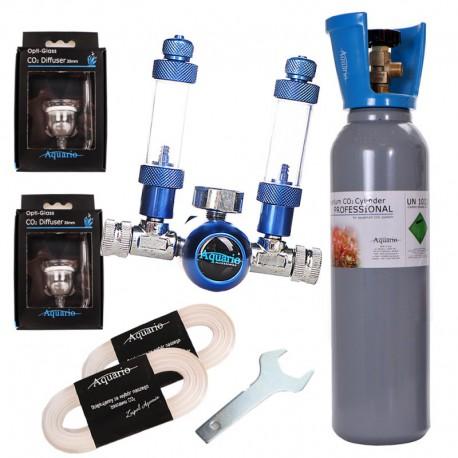 Zestaw CO2 Blue Standard TWIN - butla 8L