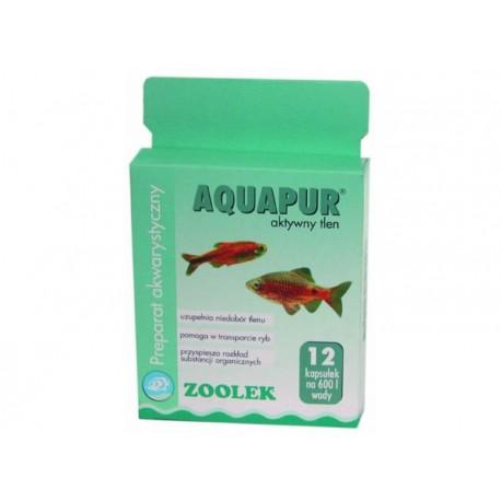 Zoolek Aquapur aktywny tlen - 12 kap.