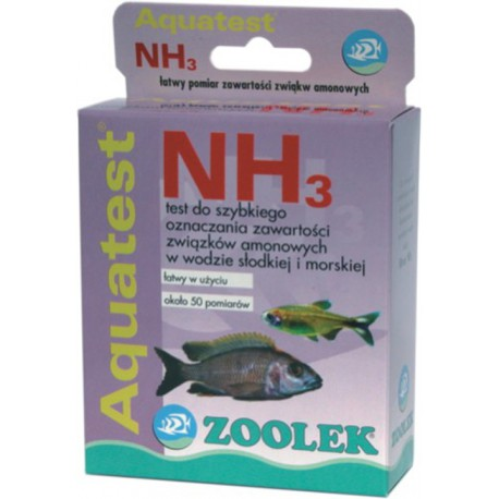Zoolek Aquatest NH3 - test na Amoniak