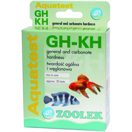 Zoolek Aquatest GH-KH - test na twardości