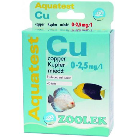 Zoolek Aquatest Cu - test na miedź